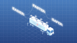 infographic explainer animated truck