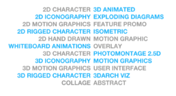 Animation style types