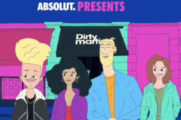 Brand Animation Example For Absolut