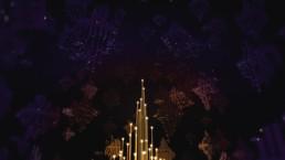 Fintech 3D Animation Lights In Sky