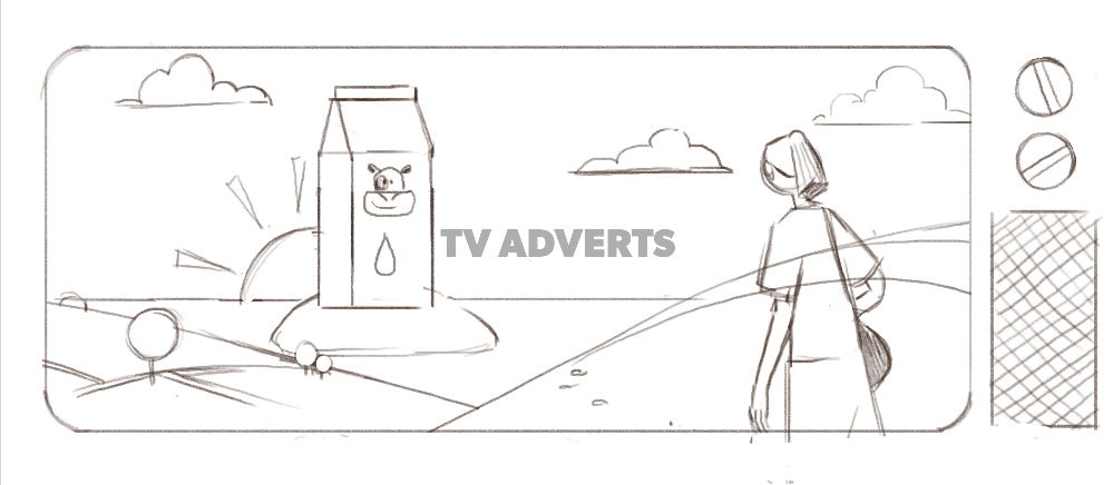 Animated TV Adverts