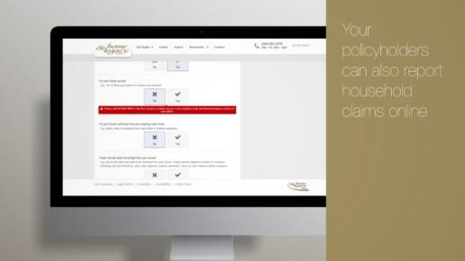 Insurance animation e-trading gold