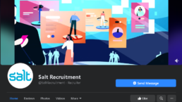 Salt Recruitment Facebook Cover photo