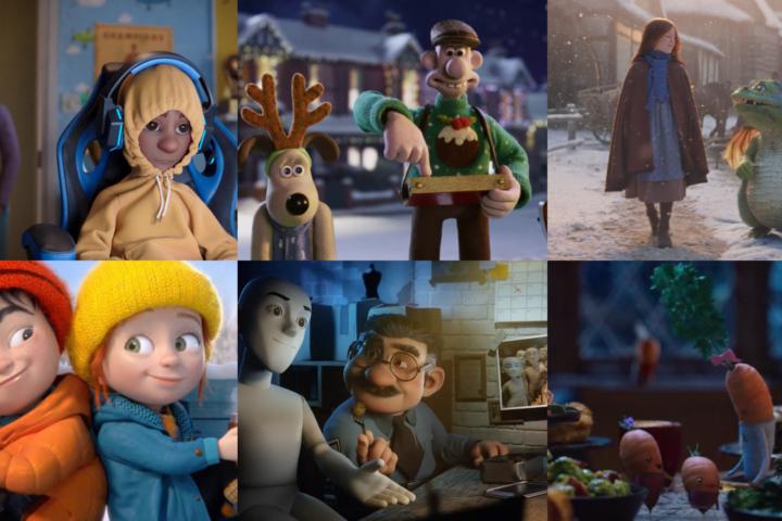 Animated Christmas Adverts